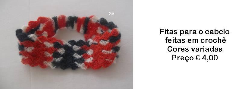 Fitas para o cabelo em crochê - Manuel A. M. Pacheco - Artesanato 4d87c01bd5b