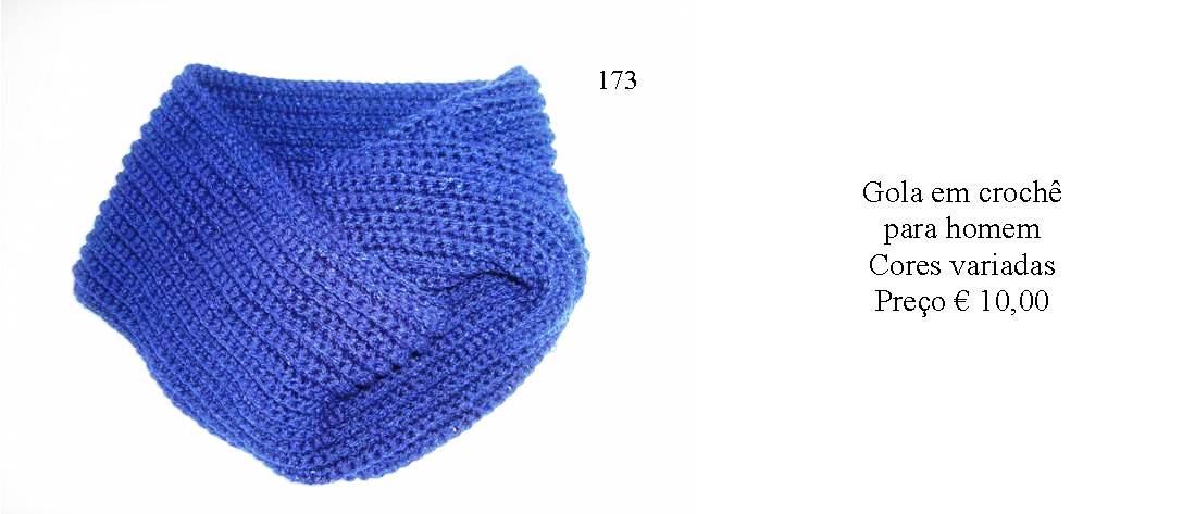 Golas em crochê - Manuel A. M. Pacheco - Artesanato bb2e527f65e