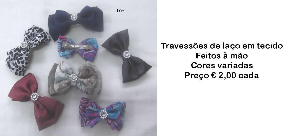 Travessões de laços em tecido feitos à mão - Manuel A. M. Pacheco -  Artesanato e12b1b90a9b