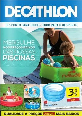 Novo folheto decathlon de 17 maio a 1 junho piscinas for Piscina lidl