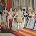 Apresentados os trajes oficiais da Rainha e Princesas da